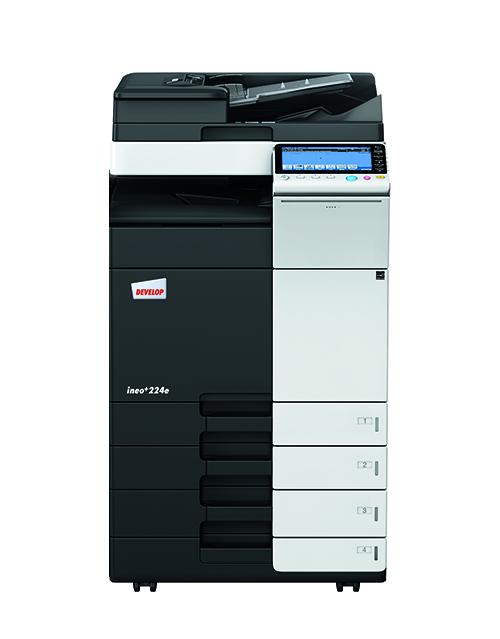 Έγχρωμο εκτυπωτικό Develop ineo+ 224e